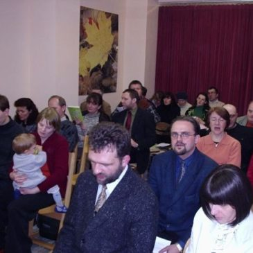 Pierwsze nabożeństwo – 25 stycznia 2005