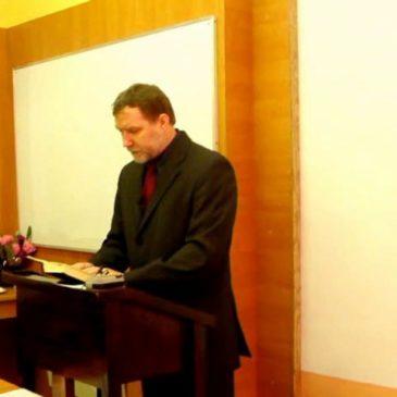 2012.01.22 – Zaszczyt hańby Chrystusowej – Grzegorz Barszcz