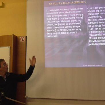 List do Rzymian 12,3-16 – Marek Kaczmarczyk