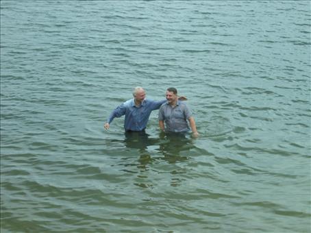 Chrzest w Krapkowicach 22 czerwca 2014