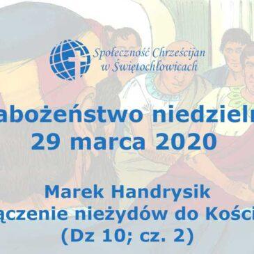 Dzieje apostolskie 10; cz. 2 – Marek Handrysik