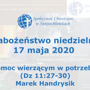 Pomoc wierzącym w potrzebie – Dz 11,27-30 – Marek Handrysik