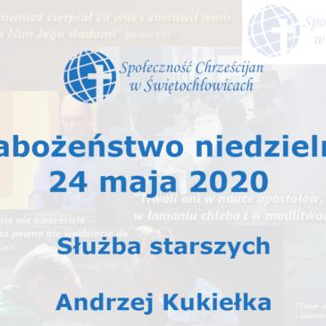 Służba starszych – Andrzej Kukiełka