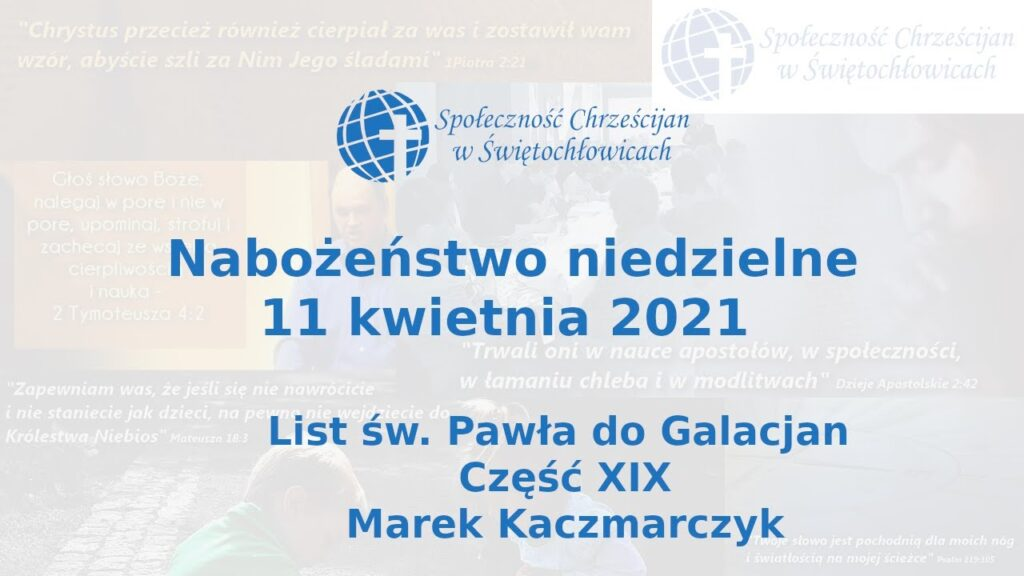 19. List św. Pawła do Galacjan – Marek Kaczmarczyk