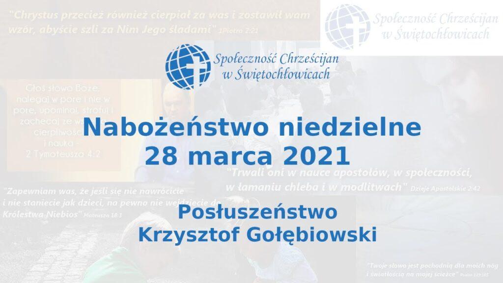 Posłuszeństwo – Krzysztof Gołębiowski