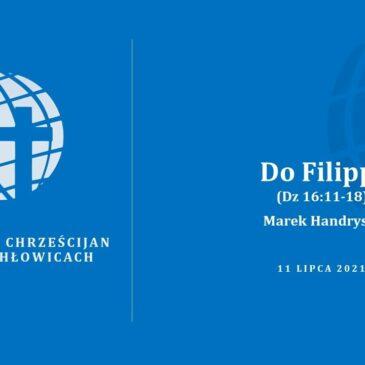 Do Filippi (Dz 16:11-18) – Marek Handrysik