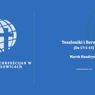 Tesaloniki i Berea cz. 2 – Marek Handrysik